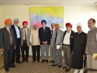 Mr. Akhilesh Mishra, Consul General of India, Toronto had meeting with Senior Citizen Clubs.