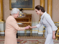 Angelina Jolie made an Honorary Dame by Queen Elizabeth