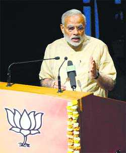 Counter Oppn charge: PM to BJP