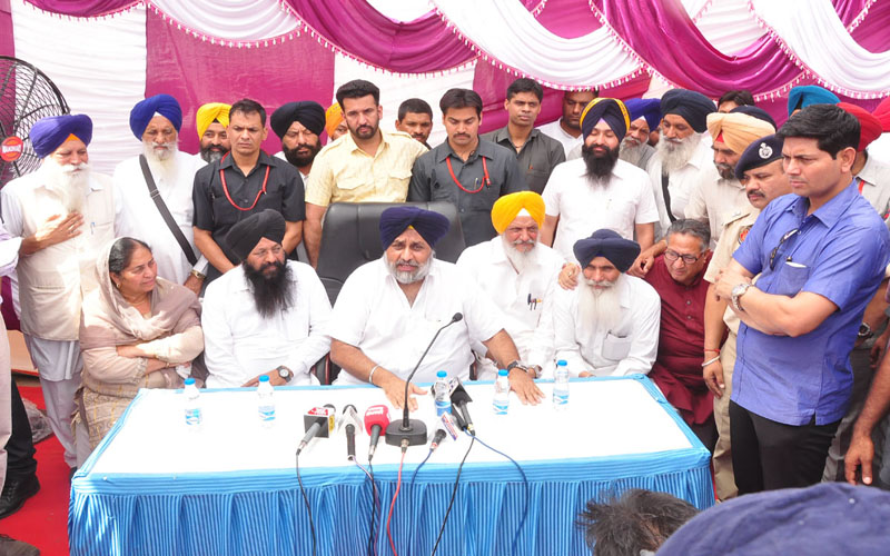 No need of imposition of Governor rule in Punjab-Sukhbir Badal