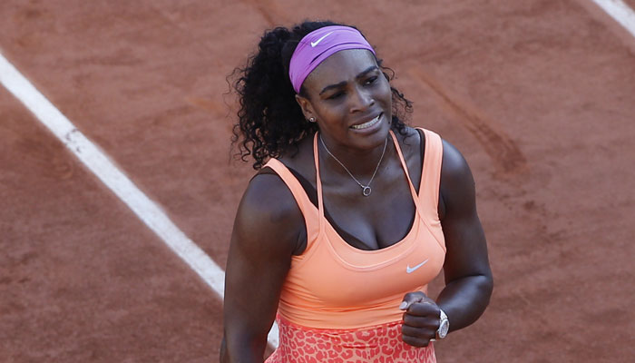 French Open: Ill Serena Williams defeats Timea Bacsinszky, to face Lucie Safarova in final
