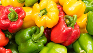 Five health benefits of bell peppers!