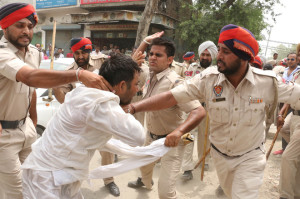 AFTER POLICE IRE, TEACHERS FACE SEVERE CHARGES; 11 BOOKED