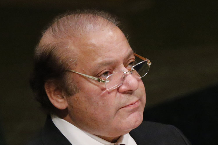 Sharif indicted in third graft case
