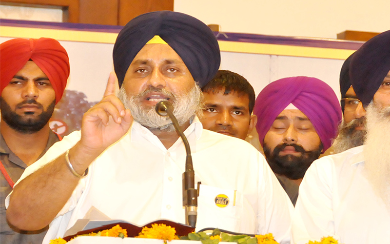 Teach Amarinder and Congress a lesson for betraying you – Sukhbir Badal
