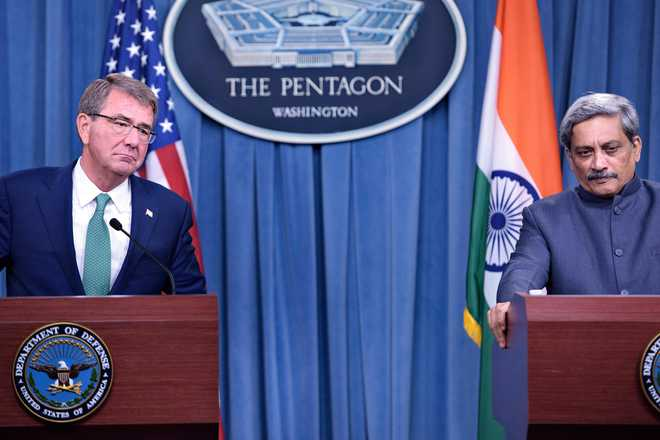 India, US agree to enable forces to use each other's bases