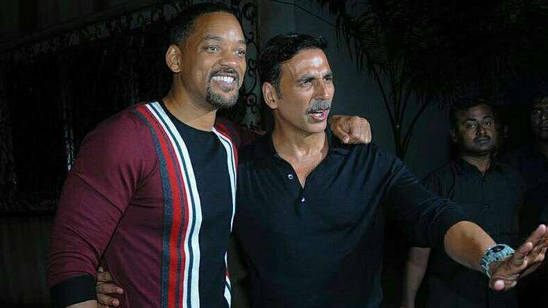 Will Smith joins 'Khiladi' Akshay Kumar's party