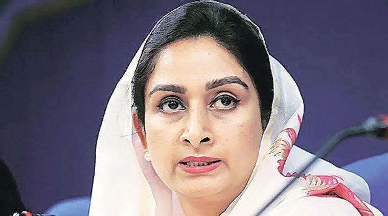 Harsimrat Badal announces establishment of an IIFPT centre at Bathinda