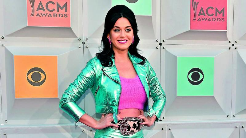 Katy Perry helps deliver a baby