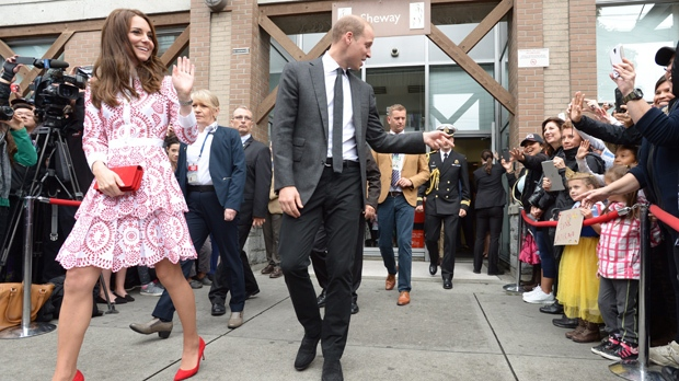Duke and Duchess of Cambridge to meet with First Nations, tour Central Coast region