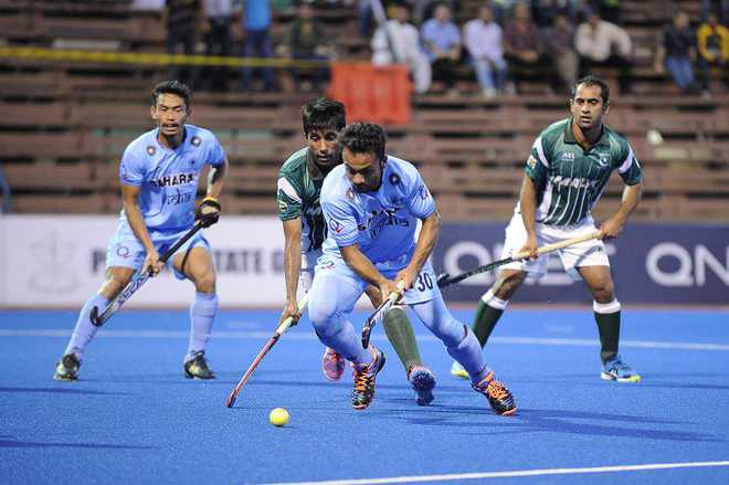 India eke out 3-2 victory over arch-foes Pakistan