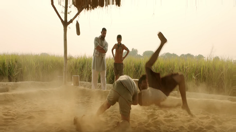 Aamir's Dangal trailer released