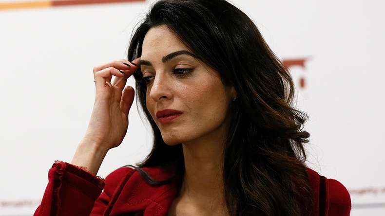 Amal Clooney sparks pregnancy rumours after seen with fuller figured