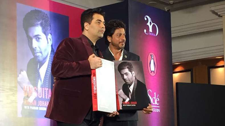 Karan Johar is an extremely gifted sensitive person: Shah Rukh Khan