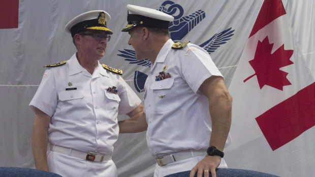 Suspended Canadian admiral brings in prominent lawyer to represent him