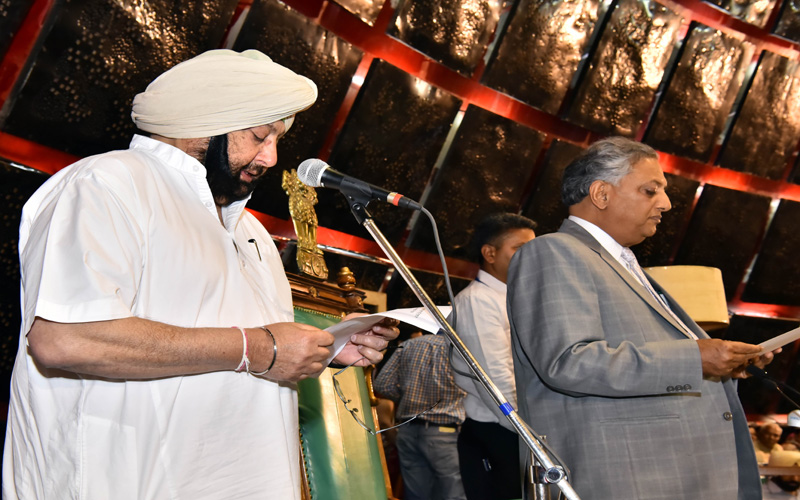 Punjab assembly session begins, CM Amarinder Singh takes oath