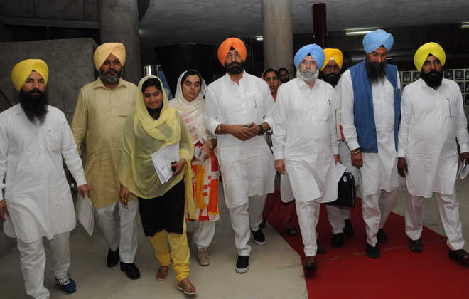 No road map for Punjab in Governor's address: AAP