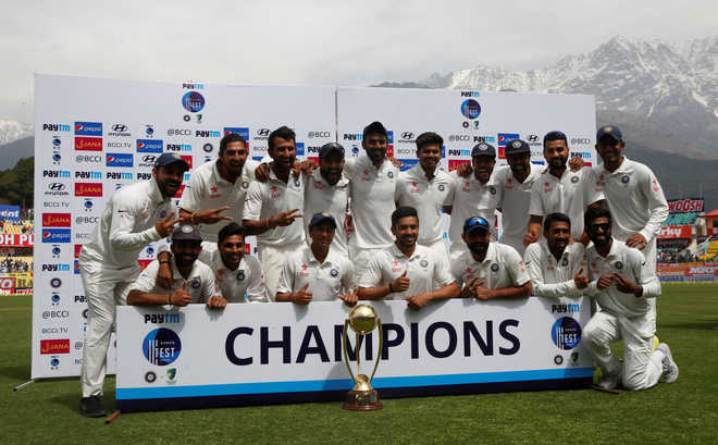 India win Dharamsala Test, series against Australia