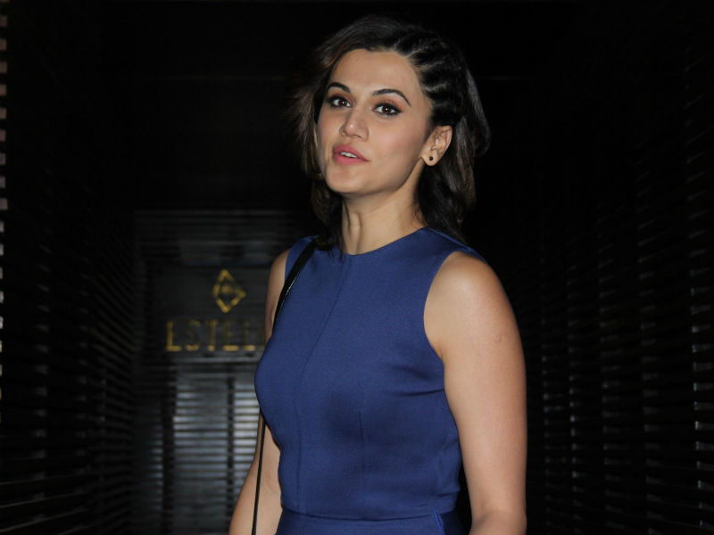 Taapsee Pannu Launches Helpline For Women To Report Harassment