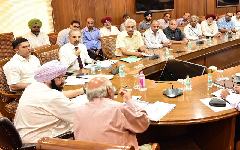 PUNJAB CM DIRECTS CS TO ADDRESS CONCERNS OF INDUSTRIALISTS IN NEW POLICY