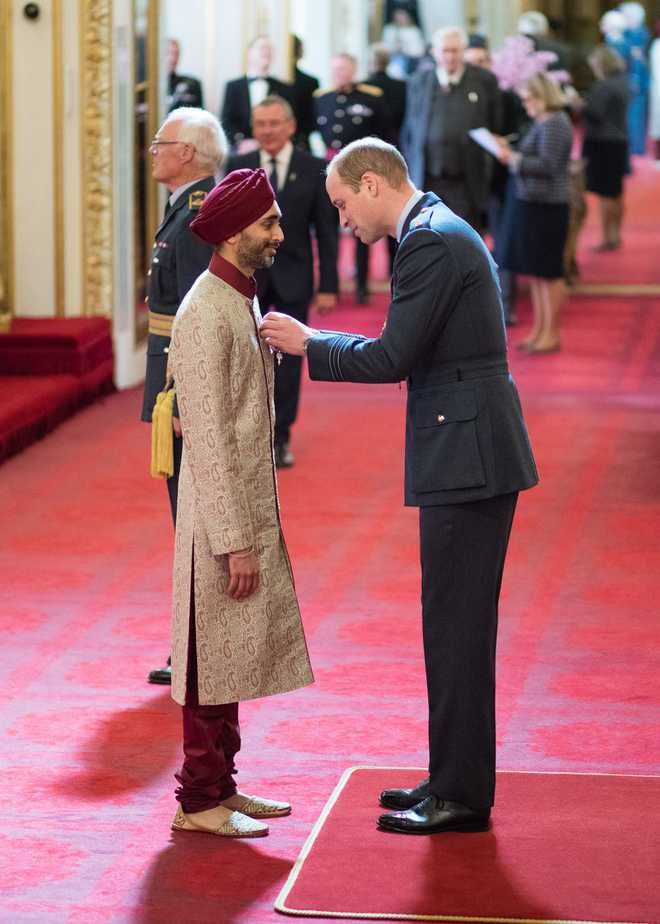 Sikh barrister honoured with Order of British Empire