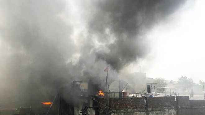 Major fire breaks out at Ludhiana factory