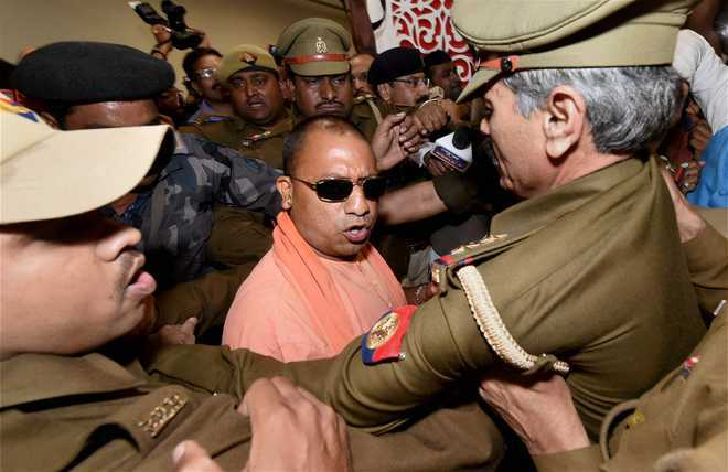 Voters have shown EVM means 'every vote Modi', says Yogi
