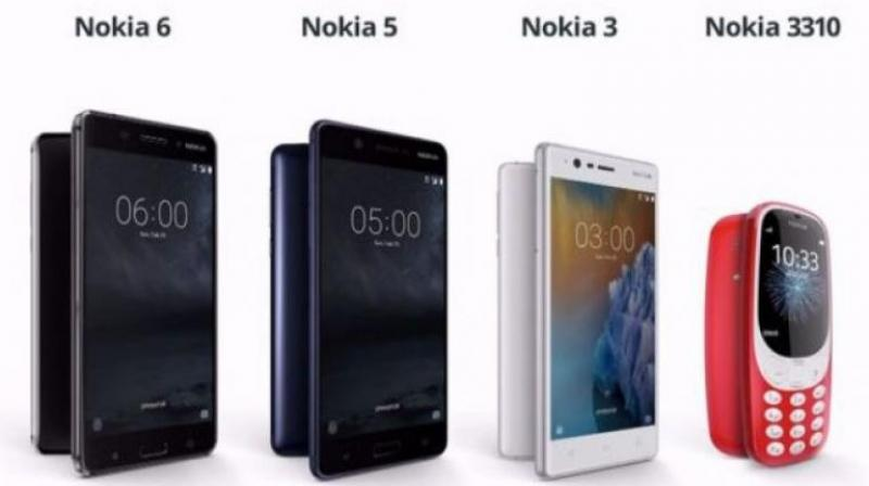 Nokia to bring its latest smartphones to India in first week of June