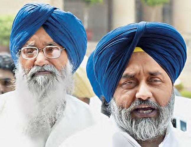 SAD president Sukhbir Badal demands imm withdrawal of draconian power tariff hike