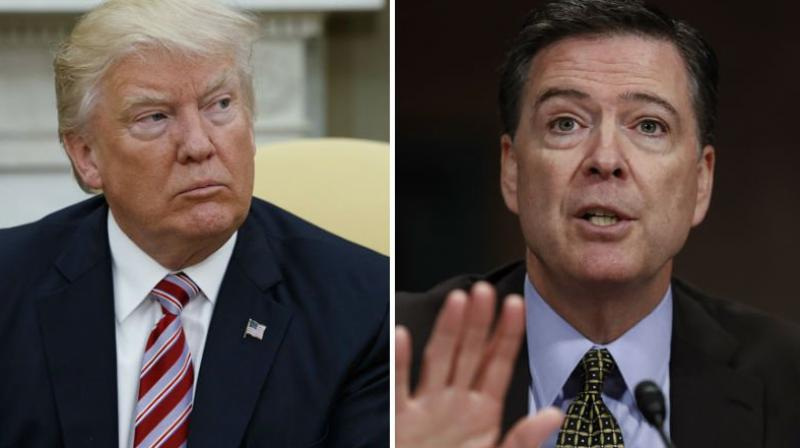 New York Times sues FBI to get notes of Comey-Trump talks