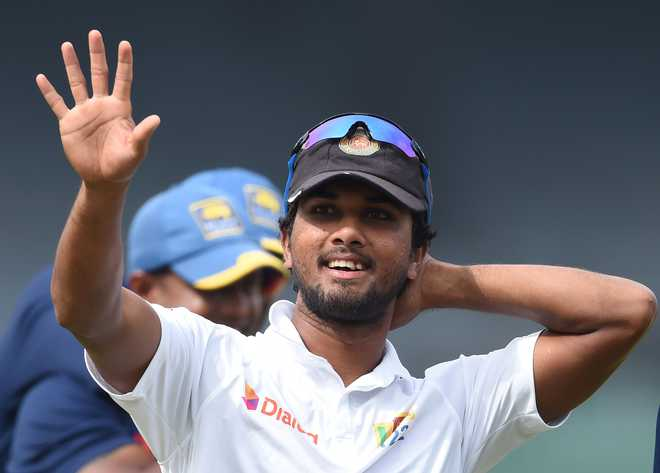 Sri Lanka skipper Chandimal to miss first Test against India