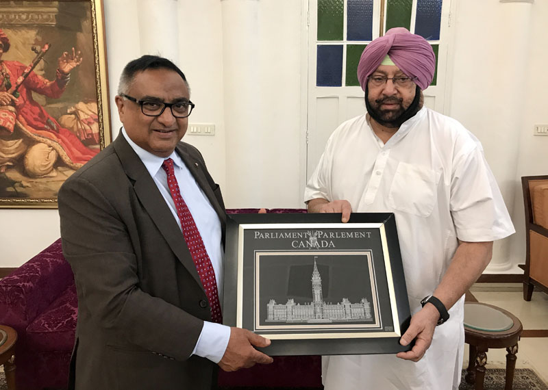CAPT AMARINDER STRESSES NEED FOR CANADA TO REIN IN RADICAL ELEMENTS