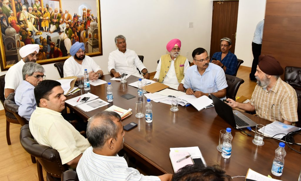 PUNJAB CM GIVES NOD TO STATE's CONCURRENCE FOR CENTRAL SCHEME TO TACKLE GROUND WATER CRISIS