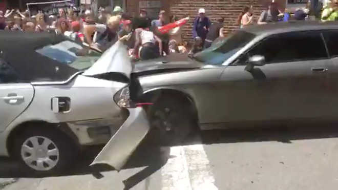 Driver accused of murder in Charlottesville violence faces court hearing