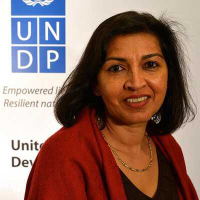 Ruby Sandhu-Rojon is UN deputy representative for W Africa