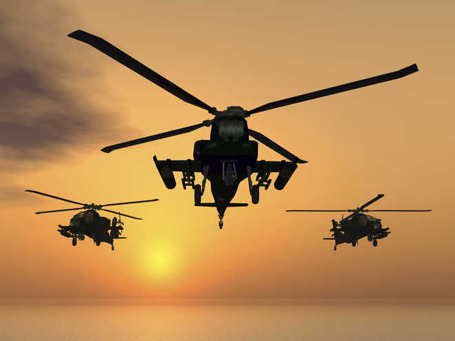 Army gets its first attack copters at cost of Rs 4,168 crore