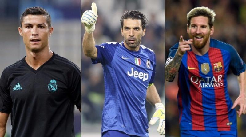 Gianluigi Buffon joins Cristiano Ronaldo, Lionel Messi in UEFA best player shortlist