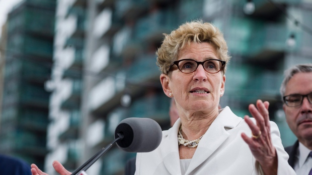 Wynne rejects idea of raising taxes to pay for infrastructure