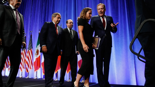 U.S. opens NAFTA talks demanding major changes