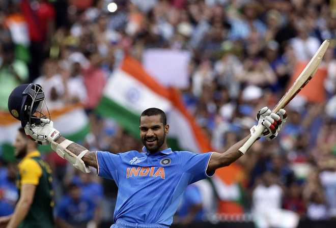 Dhawan released for first three ODIs against Australia, to attend to ailing wife