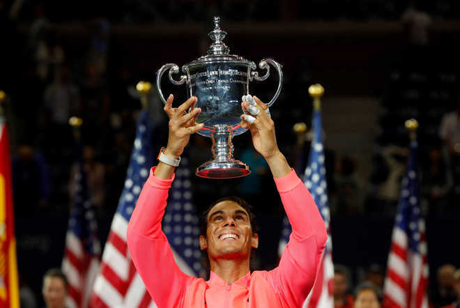 Nadal maintains No.1 spot in ATP rankings