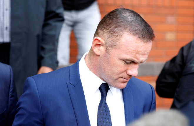 Former England captain Wayne Rooney pleads guilty to drink-driving