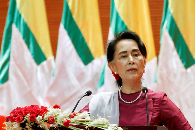 Myanmar ready to take back refugees subject to 'verification': Suu Kyi