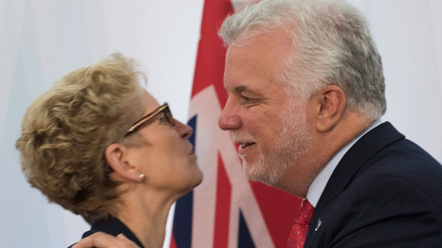 Wynne says she was misunderstood by Quebec party leader during meeting