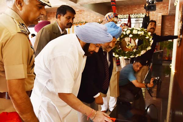 CAPT AMARINDER RESTORES SPECIAL FAMILY PENSION FOR WIDOWS OF GOVT EMPLOYEES KILLED BY EXTREMISTS