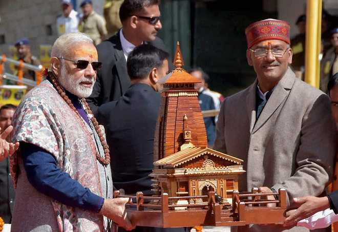 UPA didn't let me rebuild Kedarnath: PM