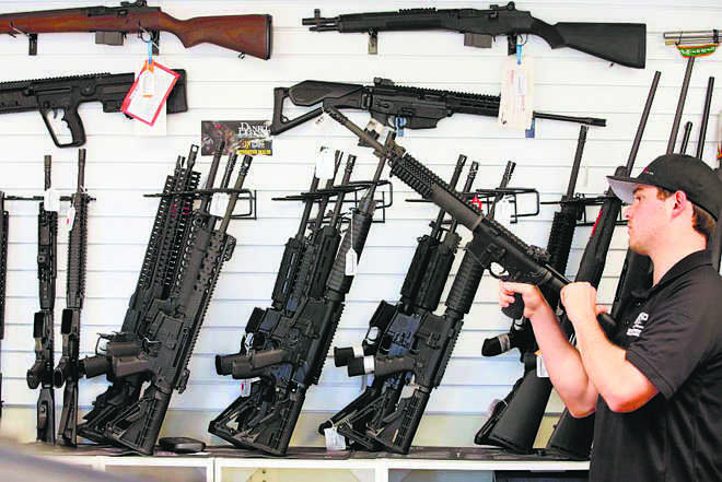 30 lakh Americans carry loaded handguns daily: Survey