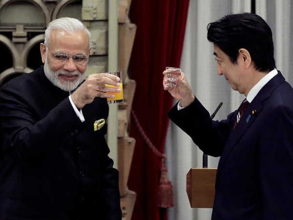 Modi congratulates 'dear friend' Abe on re-election