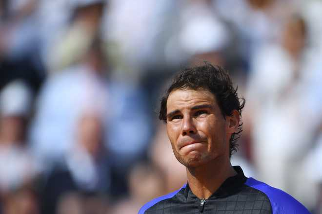 ATP Finals: Nadal withdraws due to knee injury