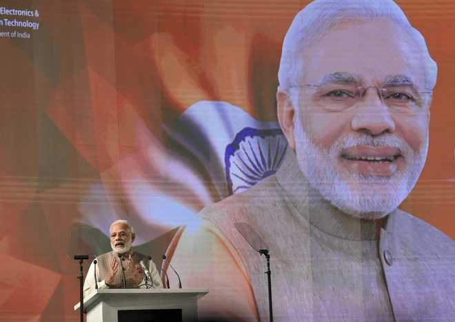 Modi pitches for information sharing among nations to counter cyber threat